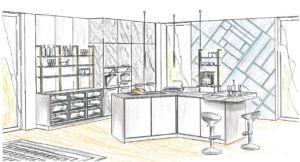 küchenplanung-zeichnung