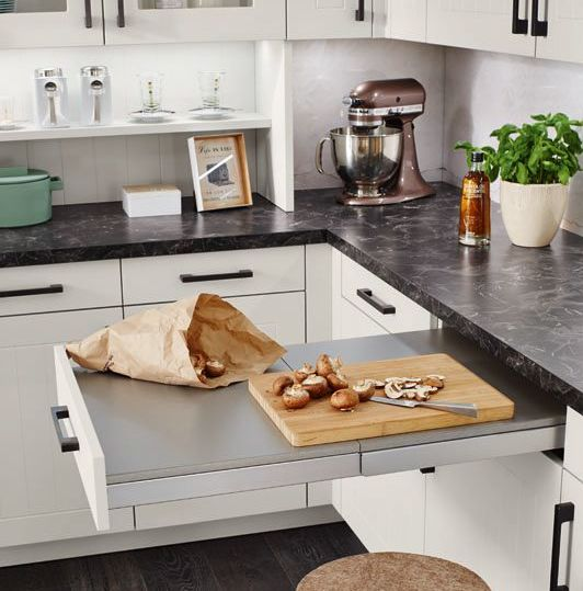ausziehschublade küche